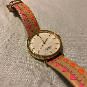 Kate Spade colorful leather watch